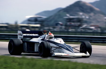 Nelson Piquet During