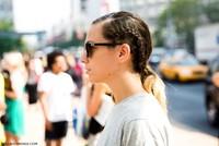 El street style de las Semanas de la Moda refleja las tendencias en peinado