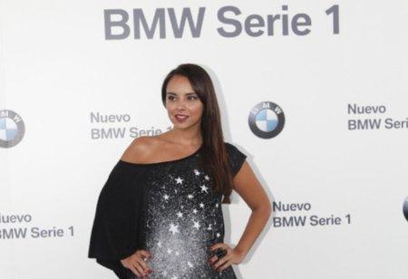 El look de Chenoa en la presentación de BMW nueva serie 1
