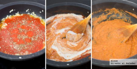 Salsa Tomate Cremosa Elaboracion