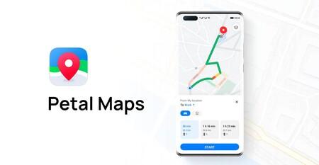 Huawei se acerca a Google Maps con las nuevas rutas a pie y en bici, ya en Petal Maps