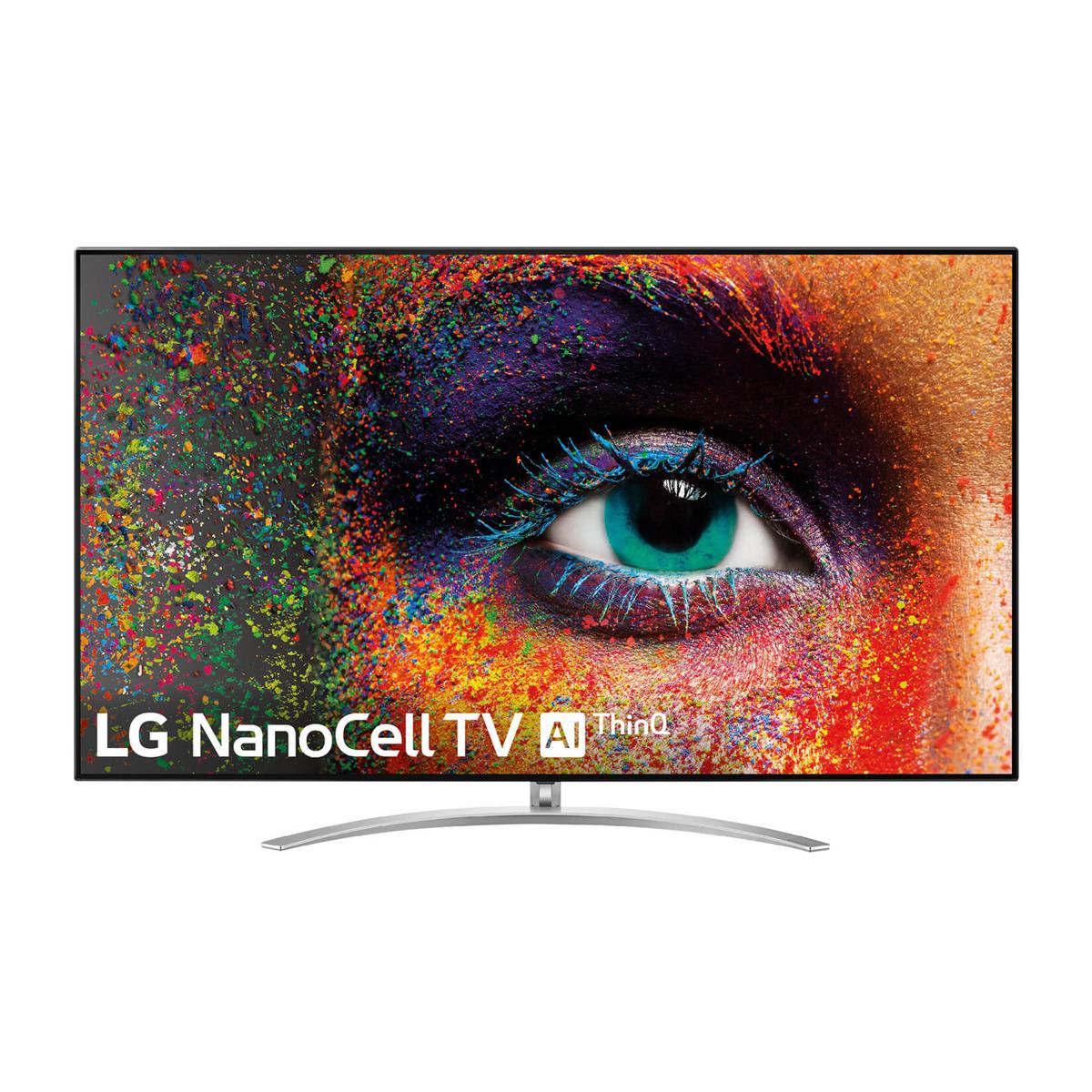 "TV LED 139 cm (55"") LG 55SM9800 NanoCell 4K, HDR Smart TV con Inteligencia Artificial (IA)"