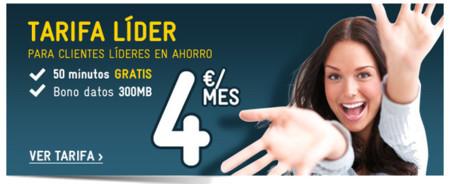 Las rebajas se adelantan en MÁSMÓVIL, 50 minutos gratis en la Tarifa Líder y mejoras en la Tarifa Cero
