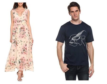 4 cupones de descuento de hasta el 50% en ropa interior para hombre, camisetas y vestidos en Amazon