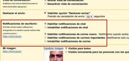 Gmail añade notificaciones para correos y chat (sólo en Chrome)