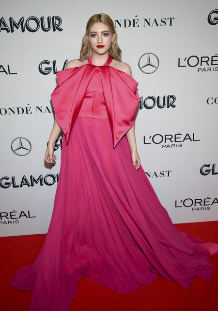 Willow Shields red carpet glamour women