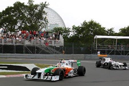 Force India entre los diez primeros para la parrilla de salida del GP de Canadá 2010