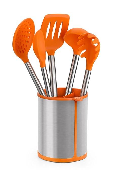 El set de cinco utensilios de cocina BRA Efficient está rebajado a 23,95 euros en Amazon