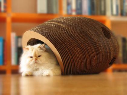Escultura multiusos para tu gato