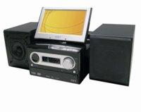 Airis L204, cadena de sonido con pantalla giratoria