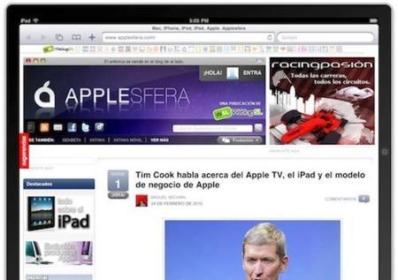 Nada de widgets en el iPad... de momento