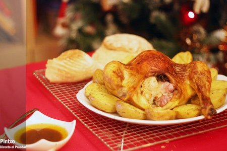 Receta de pollo asado a la forma de Christian Delouvrier