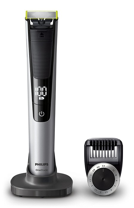 Oferta flash en el recortador de barba Philips OneBlade Pro QP6520/30: hasta medianoche cuesta 49,99 euros en Amazon