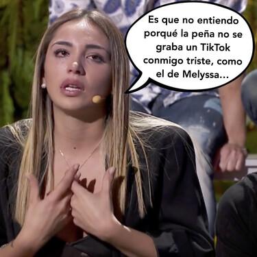'La Casa Fuerte': Sandra Pica rompe a llorar por las dudas sobre la infidelidad de Tom Brusse con Samira