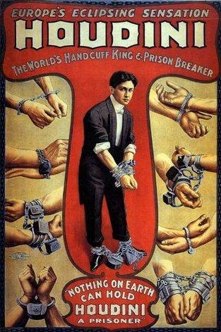 Houdini, el primer superhéroe americano