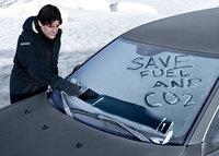 Saab Funk-Is Ice Scraper, quita el hielo del parabrisas con estilo