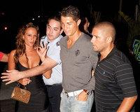 Cristiano Ronaldo ignora a Nereida Gallardo