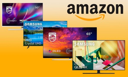 Estas 16 smart TVs de Samsung, Philips y Thomson salen mucho más baratas en Amazon esta semana