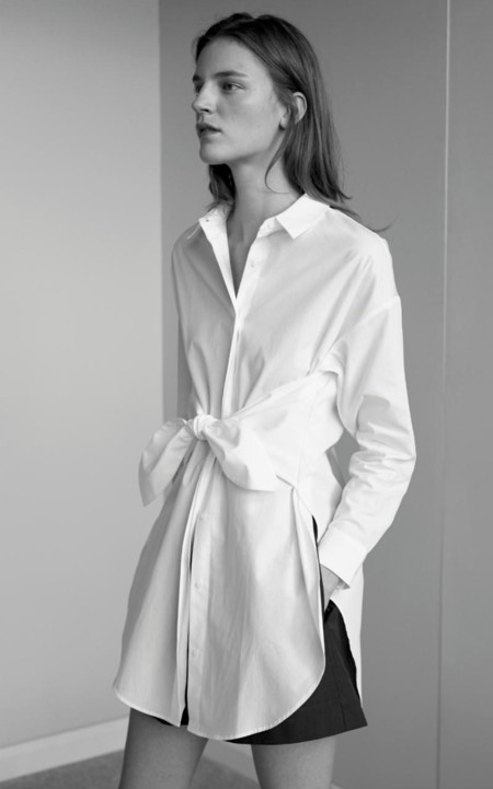La nueva camisa blanca