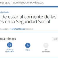 Consigue tu certificado de deudas con la Seguridad Social al momento y sin necesidad de certificado digital
