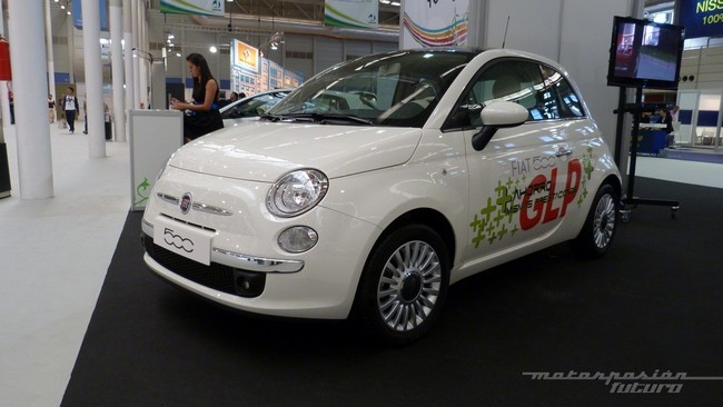Fiat 500 bi-fuel GLP gasolina