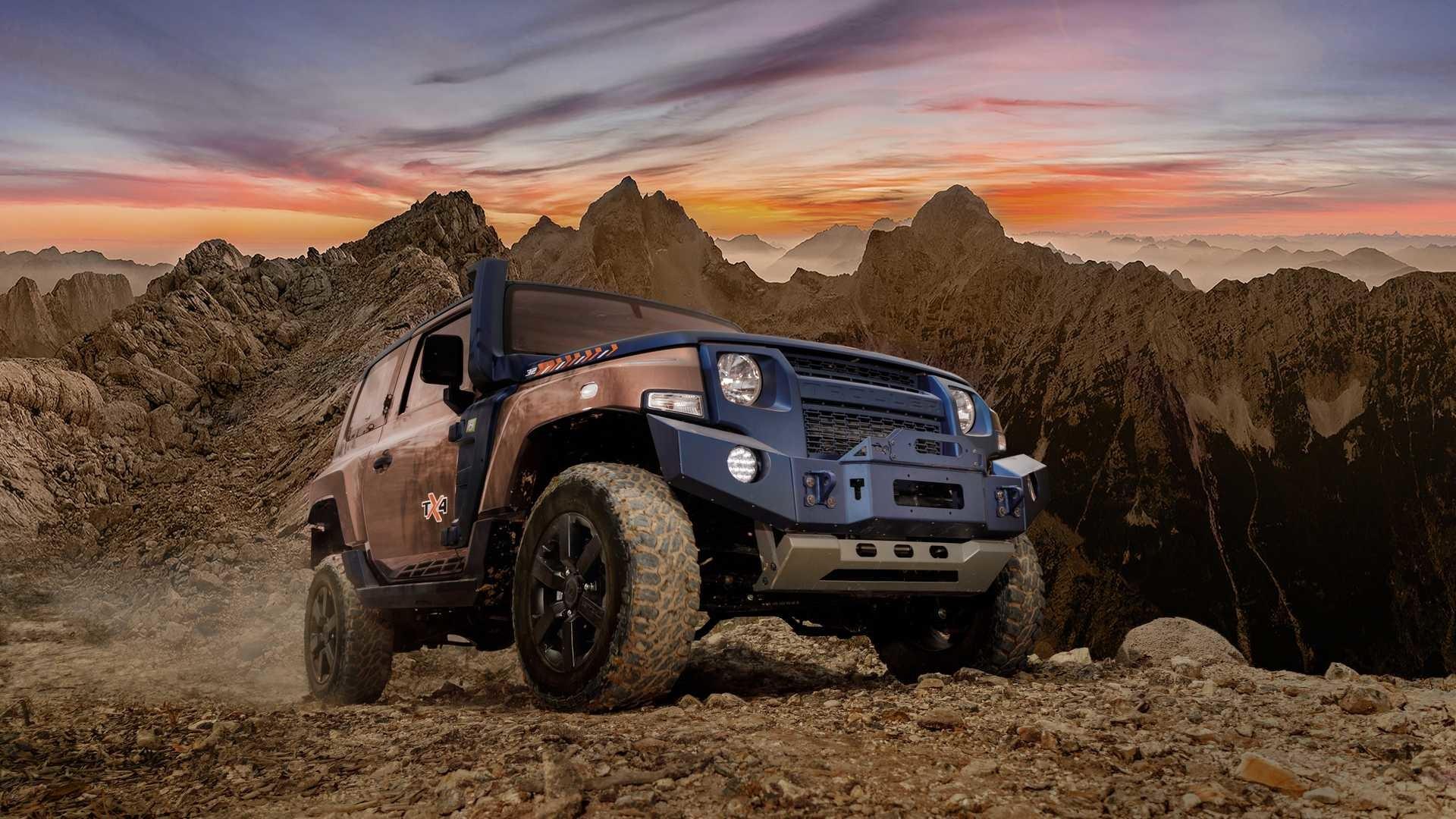 Foto de Troller TX4, el rival del Jeep Wrangler (24/43)