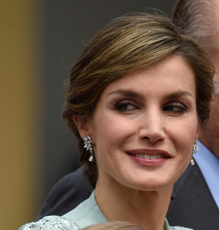 Look Reina Letizia Comunion Infanta Sofia
