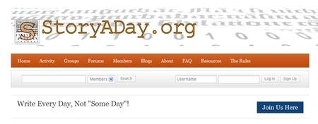 StoryADay, ¿puedes escribir una historia al día?