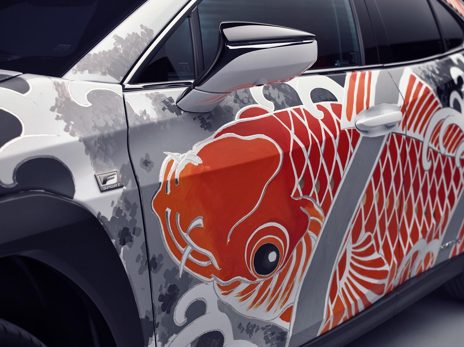 Foto de Lexus UX tatuado (3/27)