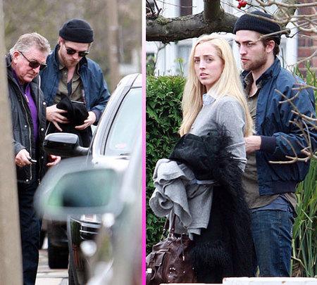 Robert Pattinson vuelve a casa por Navidad