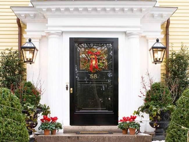 Las puertas de navidad m s originales - Puertas originales ...
