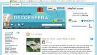 Nueva pestaña con lo mejor de Decoesfera y comentarios con Facebook
