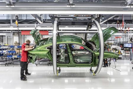 Porsche Taycan Fabrica