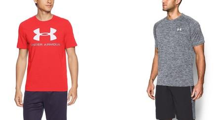 Dos camisetas deportivas de  Under Armour muy rebajadas en Amazon