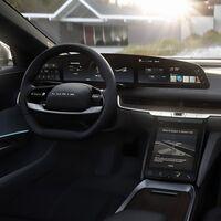 Lucid presume de una alucinante pantalla curva de 34 pulgadas y resolución 5K en su coche eléctrico, el Lucid Air