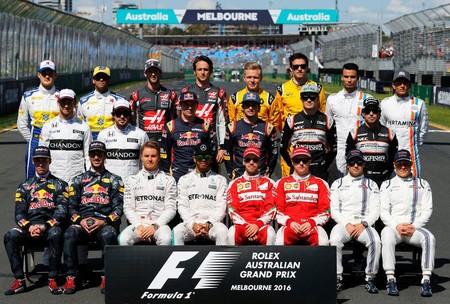 Foto Pilotos F1 2016