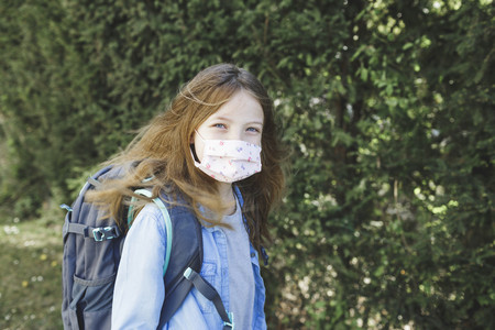 La ingeniosa idea de un colegio español para que sus alumnos cambien de mascarilla a diario