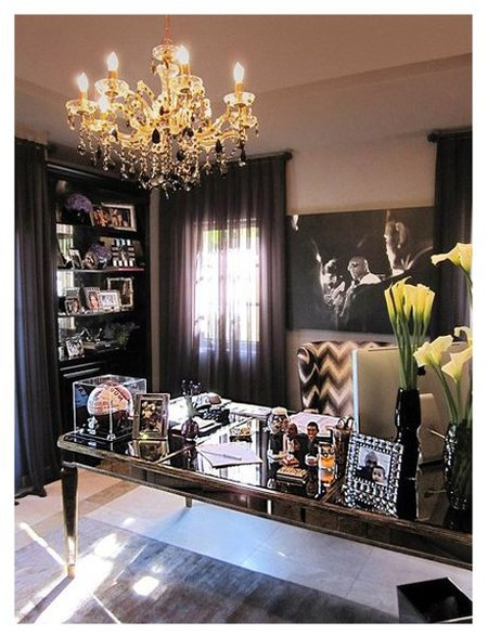 Otra vista del despacho de Khloe Kardashian