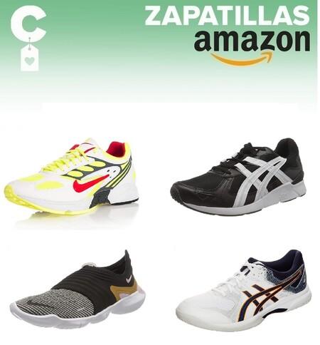 Chollos en tallas sueltas de zapatillas Asics y Nike por menos de 40 euros en Amazon