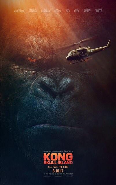 Póster del nuevo King Kong