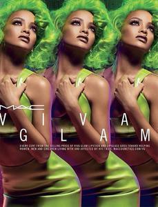 Llega la nueva y renovada campaña Viva Glam de MAC con Rihanna como protagonista (otra vez)