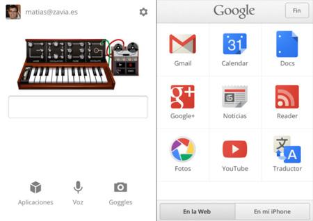 Google Search para iPhone rediseña su interfaz y acelera las búsquedas