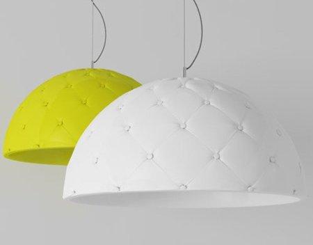Lámpara inspirada en los sofás Chester