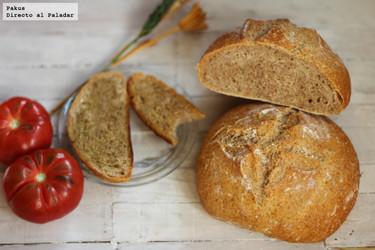 Hogazas de pan de espelta. Receta para el #DíadelaEspelta