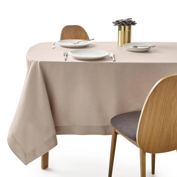 Mantel de algodón/lino