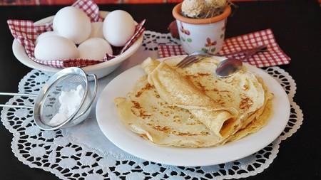 Tortitas Crepes Ingredientes