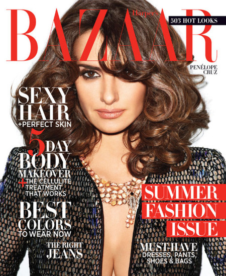 Lo de Penélope Cruz en Harper's Bazaar sí que es puro glamour