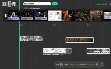 DragonTape: mezcla tus vídeos favoritos y compártelos