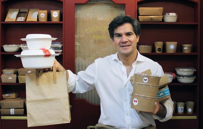 El hombre detrás de las vajillas de catering de media España, que Dabiz Muñoz o Dani Garcia han elegido para presentar su comida para llevar