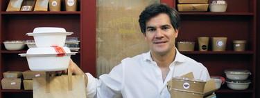 El hombre detrás de las vajillas de catering de media España que Dabiz Muñoz o Dani García han elegido para presentar su comida para llevar